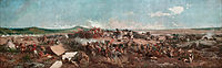 MARIANO FORTUNY - La Batalla de Tetuán (Museo Nacional de Arte de Cataluña, 1862-64. Óleo sobre lienzo, 300 x 972 cm).jpg