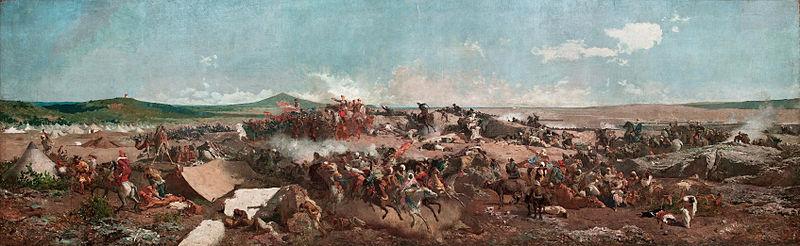 File:MARIANO FORTUNY - La Batalla de Tetuán (Museo Nacional de Arte de Cataluña, 1862-64. Óleo sobre lienzo, 300 x 972 cm).jpg