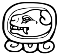 Logograma OC, dia 10 do ciclo Tzolkin.