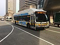 MBTA route 39 bus near Copley Square, February 2019.jpg