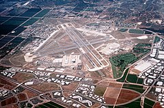 View of the airfield in 1993
