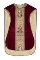 MCC-19207 Rood kazuifel met verrijzenis, geboorte Christus, diverse heiligen en wapens (2).tif
