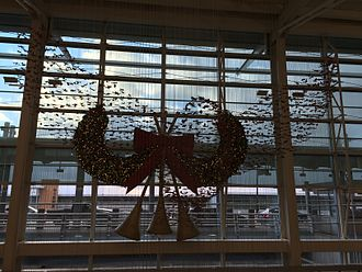 Midway International Airport - Sculpture at Chicago–Midway.