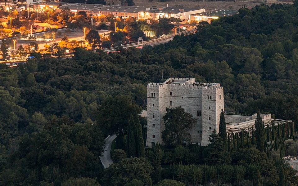 Chateau De La Gaude, Saint-Jeannet, France