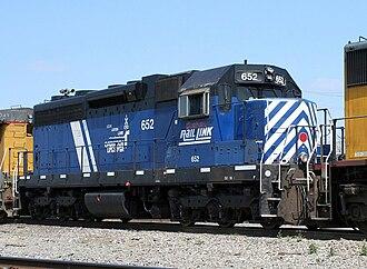 Montana Rail Link - Image: MRL 652 EMD SD19 1