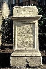 Autel votif dédié à Jupiter (Ra 239)