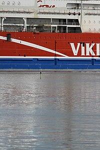 MS Viking Grace, Pernon telakka, Hahdenniemen venesatama, Raisio, 11.8.2012 (4).JPG