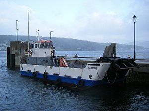 Inchmarnock - MV Marnock, at Rothesay pier