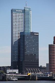Maastoren tower in Rotterdam