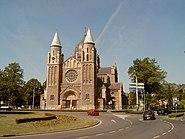 Maastricht, kerk in westelijk stadsdeel 2007-04-27 12.26