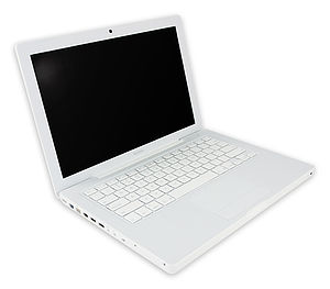 MacBook - First-generation white polycarbonate MacBook, 2006