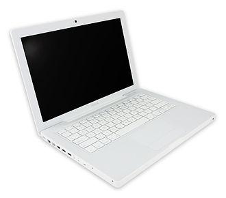 MacBook (2006–2012) - First-generation white polycarbonate MacBook, 2006