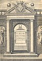 Madeleine de Scudéry - Clélie, histoire romaine - Volume 01 Frontispice.jpg