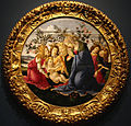 17 / Madonna Adoring the Child with Five Angels