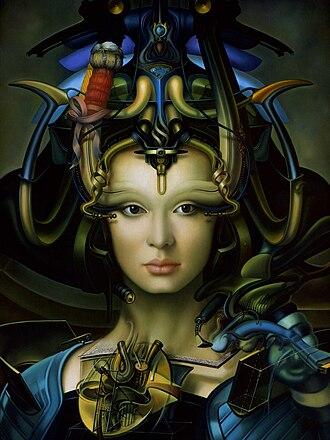 Rallé (artist) - Image: Madonna Without a Child