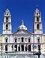 Mafra's Convent - Basilique - Façade (50177343208).jpg