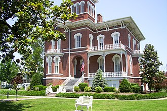 National Register of Historic Places listings in Alexander County, Illinois - Image: Magnolia Manor