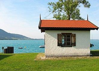 Steinbach am Attersee - Gustav Mahler's cabin