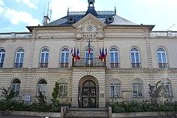 L'hôtel de ville de Bourg-la-Reine.