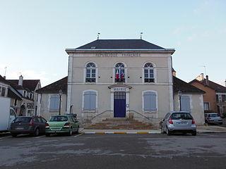 Deux Rivières Commune in Bourgogne-Franche-Comté, France
