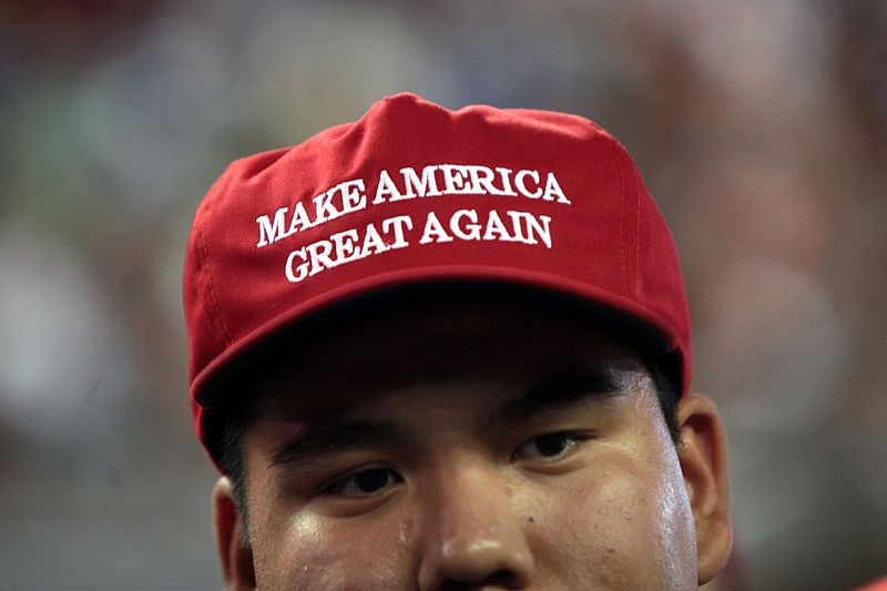 File:Make America Great Again hat (27150179783).jpg