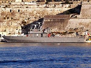 Diciotti-class offshore patrol vessel - P61 in 2006