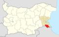 MalkoTarnovo Municipality Within Bulgaria.png