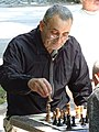 Man Playing Chess - Tsar Simeon Garden - Plovdiv - Bulgaria (43346409821).jpg