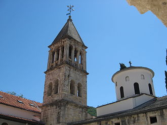 Serbs of Croatia - Krka monastery, one of the oldest Serbian Orthodox monastery in Croatia