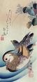 Mandarin duck woodcut3.tif