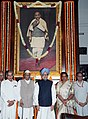 Manmohan Singh, the Speaker, Lok Sabha, Smt. Meira Kumar, the Union Minister for Parliamentary Affairs and Water Resources.jpg