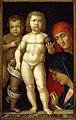 Mantegna, Sacra Famiglia con Imperator mundi.jpg