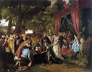 Casamiento de Basilio y Quiteria (Don Quijote capítulo XXI)