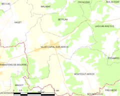 Map commune FR insee code 32464.png