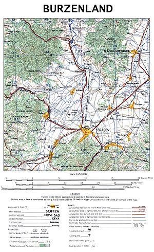 Burzenland - Map of Burzenland