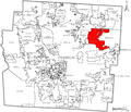 Map of Franklin County Ohio With Gahanna Labeled.png