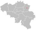 Map of genk in belgium.PNG