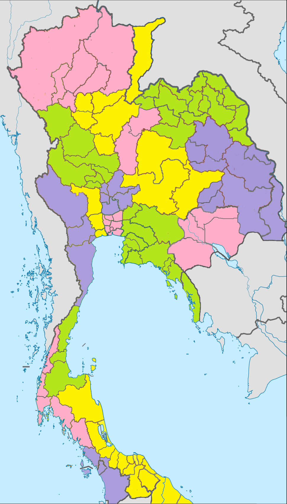 Map of thai 1900 8