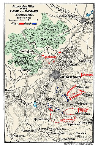 Battle of Famars - The Battle of Famars
