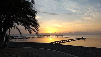 Mar Menor - Amanecer desde el Paseo Colón.jpg