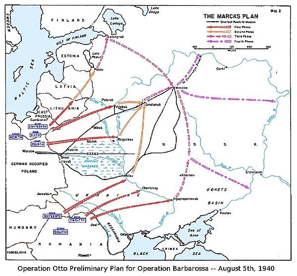Planen för Operation Barbarossa