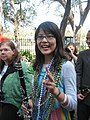 Mardi Gras Clarinet Washington Square.JPG