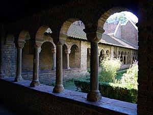 St. Mary's Church, Utrecht - the cloister
