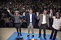 Mariano Rajoy, Esperanza Aguirre, Alberto Ruiz Gallardón y Ana Mato en la Convención del PP.jpg