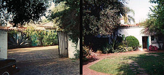 Death of Marilyn Monroe - Monroe's house on 12305 Fifth Helena Drive