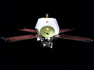 Mariner 8 - The Mariner 9 spacecraft, identical to Mariner 8