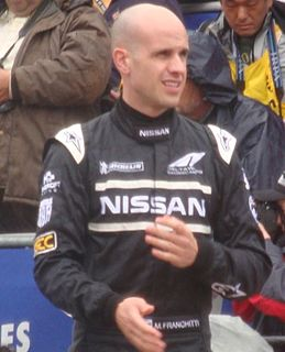 Marino Franchitti racing driver in the 2016 World Endurance Championship, winner of the 2014 12 Hours of Sebring