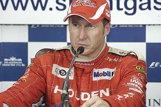 2003 V8 Supercar Championship Series - Mark Skaife finished third, ending a three season long winning streak.