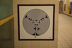 Mark Wallinger Labyrinth 218 - Cockfosters.jpg