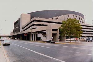 Market Square Arena - Market Square Arena in 1988